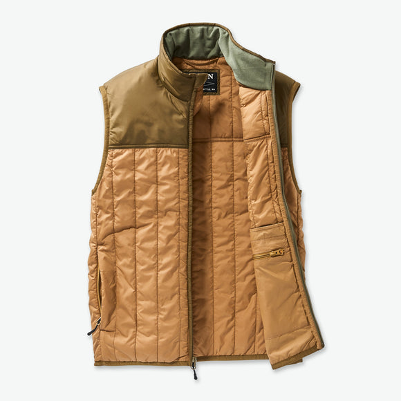 FILSON ULTRALIGHT VEST - DARK TAN