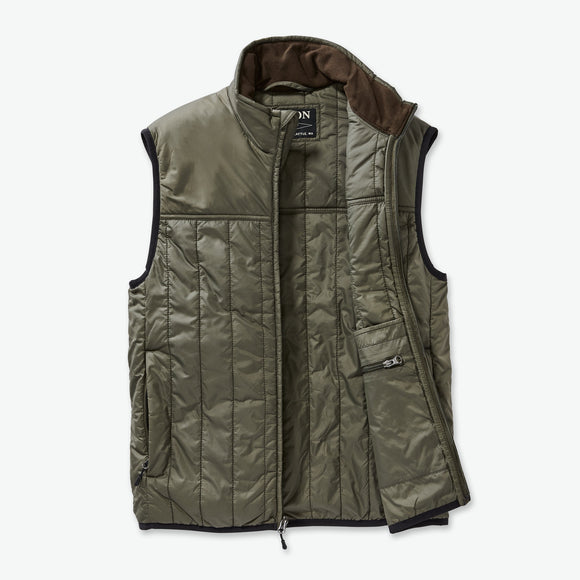 FILSON ULTRALIGHT VEST - OLIVE/GRAY
