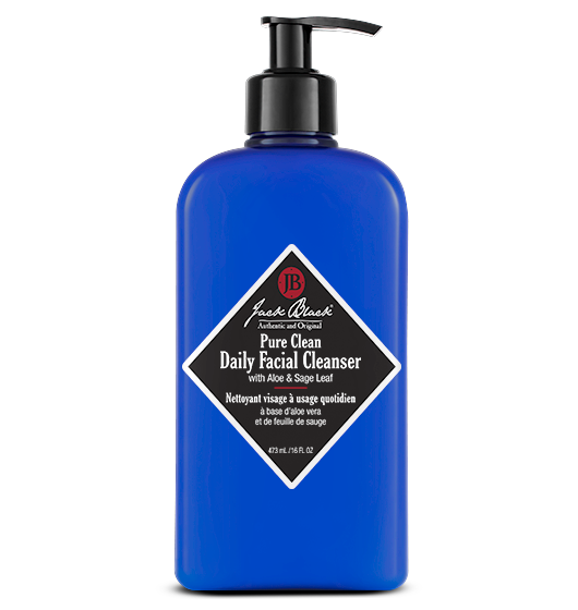 JACK BLACK PURE CLEAN DAILY FACIAL CLEANSER, 16 OZ