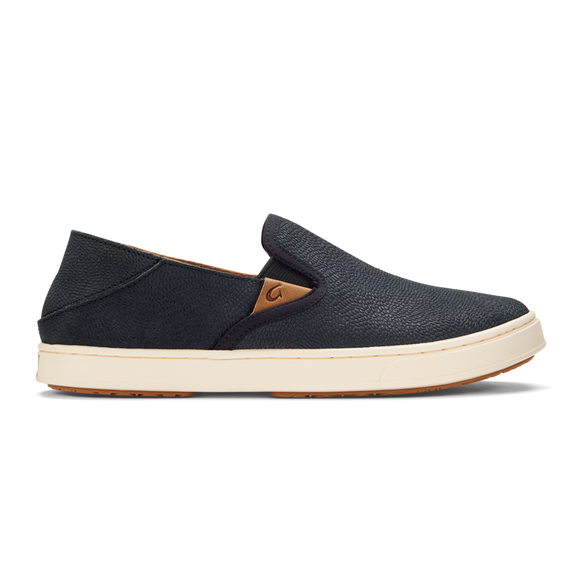 LADIES OLUKAI PEHUEA LEATHER - LAVA ROCK