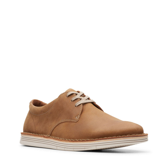 CLARKS FORGE VIBE -  TAN LEATHER