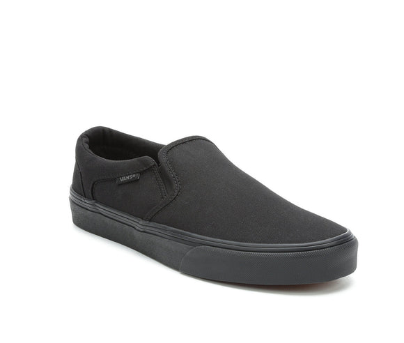 VANS AUTHENTIC SLIP ON - BLACK/BLACK
