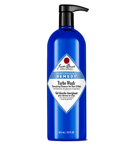 JACK BLACK TURBO WASH ENERGIZING CLEANSER, 33 OZ