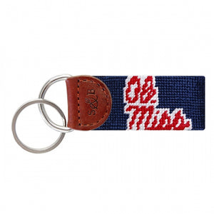 SMATHERS & BRANSON OLE MISS KEY FOB