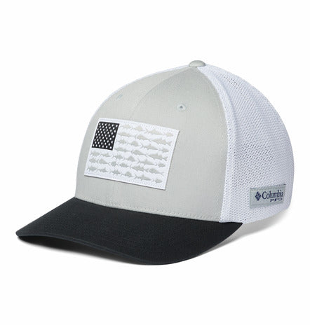MENS COLUMBIA FISH FLAG MESH CAP