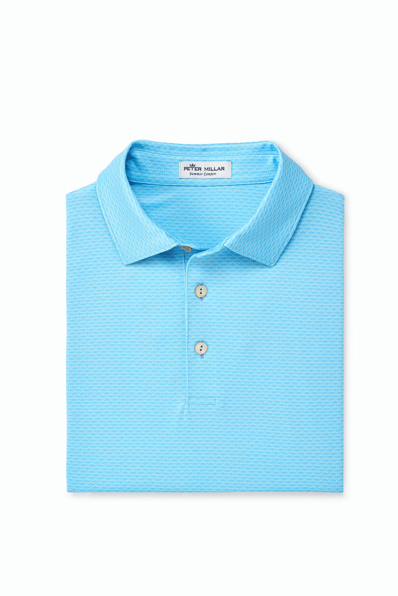 PETER MILLAR KENMORE PRINTED PERFORMANCE POLO