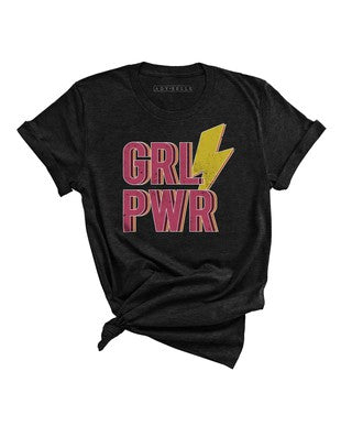 CRAZY COOL GIRL POWER TEE