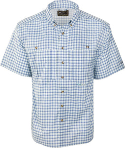 DRAKE FEATHERLITE PLAID WINGSHOOTER'S SHIRT S/S