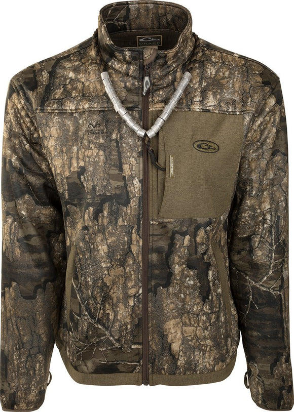 DRAKE MST ENDURANCE HYBRID LINER FULL ZIP - REALTREE TIMBER
