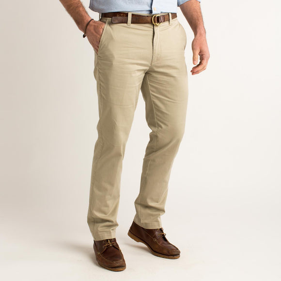 DUCK HEAD GOLD SCHOOL CHINO- KHAKI