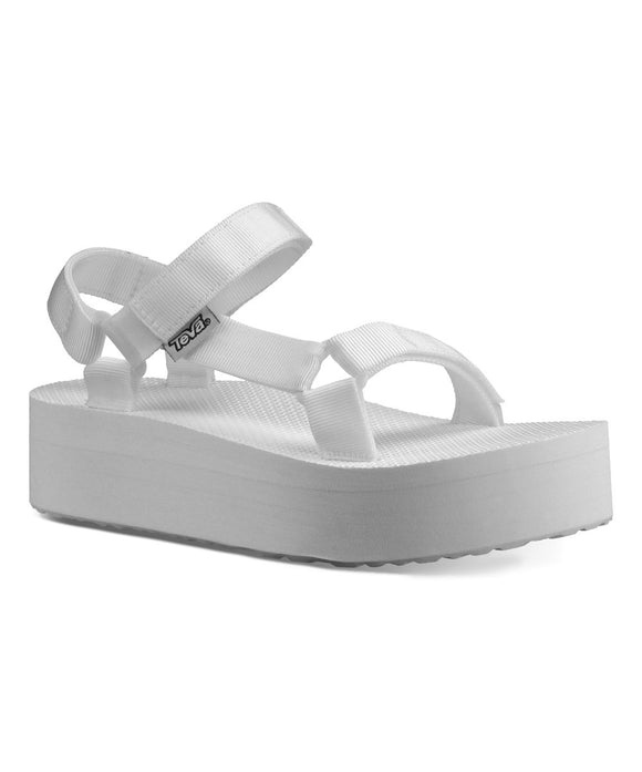 LADIES TEVA FLATFORM UNIVERSAL-BRIGHT WHITE