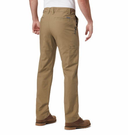 MENS COLUMBIA FLEX ROC PANT-FLAX
