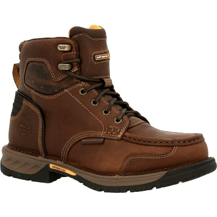 GEORGIA BOOT ATHENS 360 WATERPROOF WORK BOOT - 6IN