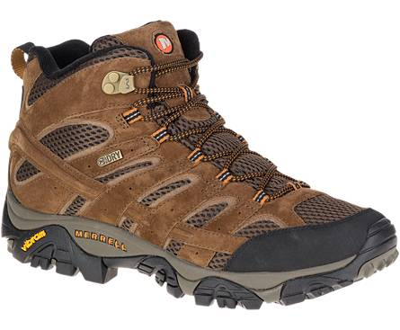 MENS MERRELL MOAB 2 WATERKPROOF-EARTH