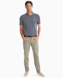 JOHNNIE-O Cross Country PREP-FORMANCE Pant- KHAKI