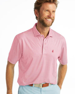 JOHNNIE-O TANNER PRINTED PREP-FORMANCE JERSEY POLO