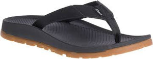 LADIES CHACO LOWDOWN FLIP- BLACK