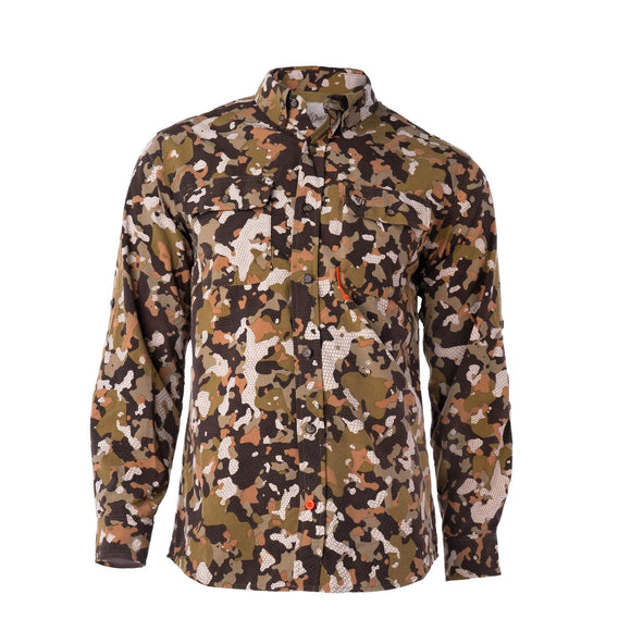 DUCK CAMP L/S LIGHTWEIGHT HUNTING SHIRT -| EARLY SEASON WOODLAND