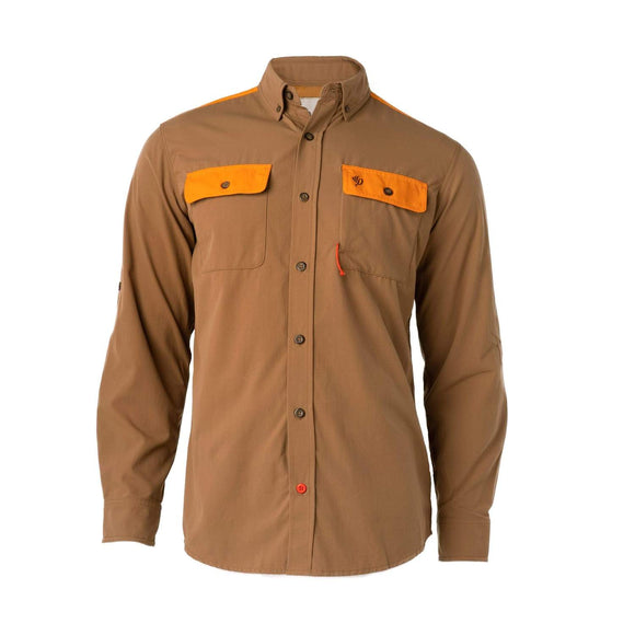 DUCK CAMP L/S LIGHTWEIGHT HUNTING SHIRT -  UPLAND