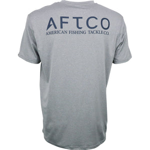 AFTCO MENS SAMURAI SS PERFORMANCE SHIRT