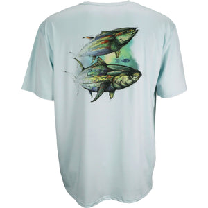 AFTCO MENS WINGMAN SS PERFORMANCE SHIRT
