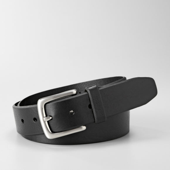 MENS FOSSIL JOE BELT BLACK