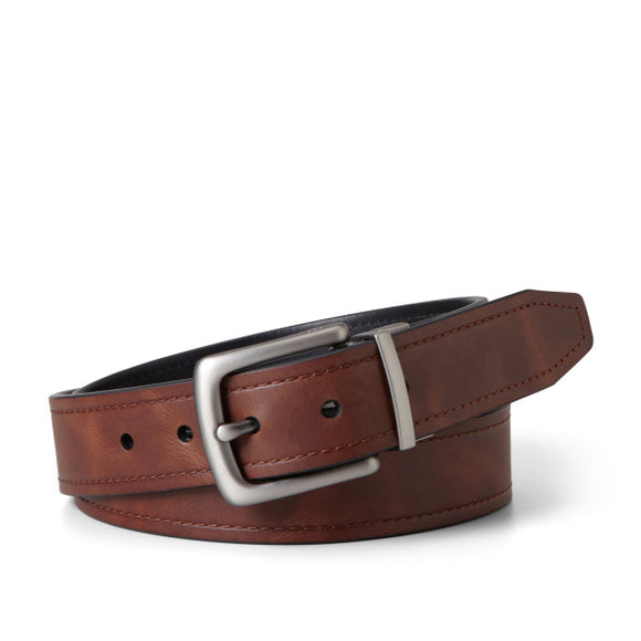MENS FOSSIL PARKER REVERSIBLE BELT