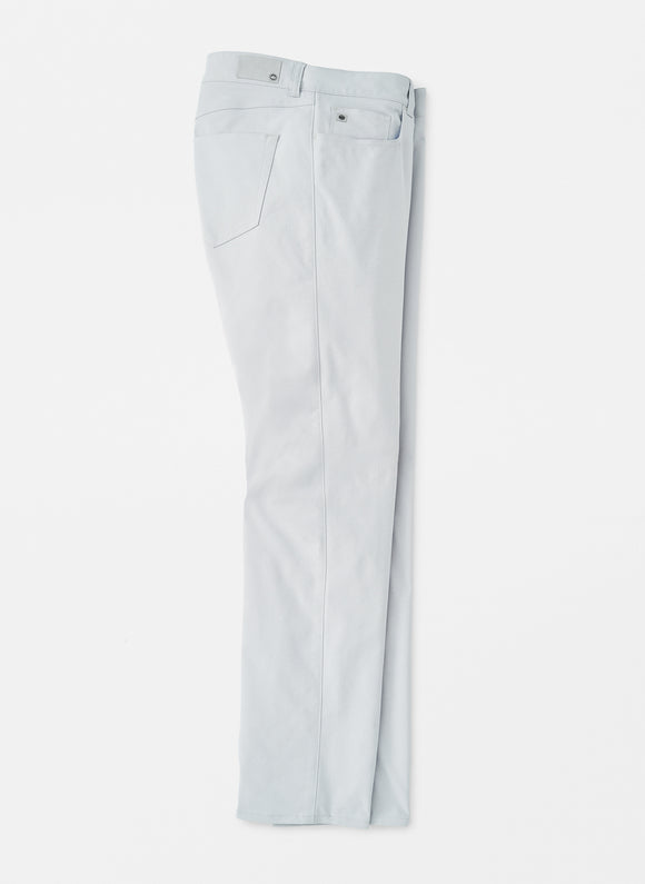 PETER MILLAR EB66 PERFORMANCE 5 POCKET PANT- BRITISH GREY