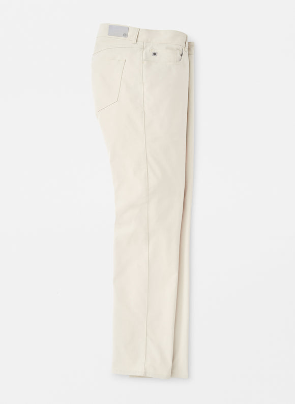 PETER MILLAR EB66 PERFORMANCE 5 POCKET PANT- STONE