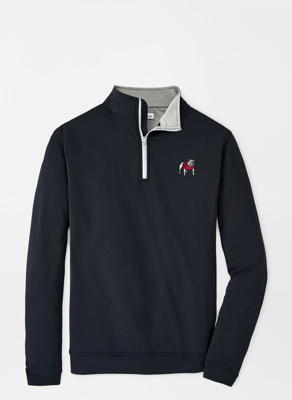 PETER MILLAR UNIVERSITY OF GEORGIA PERTH QUARTER ZIP