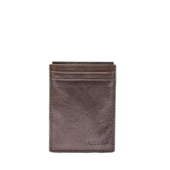 MENS FOSSIL NEEL MAGNETIC CARD CASE