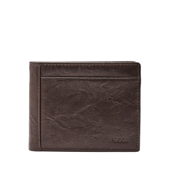 MENS FOSSIL NEEL BIFOLD WITH FLIP ID