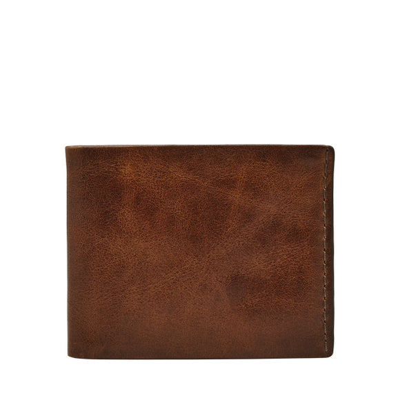 MENS FOSSIL BECK BIFOLD WITH FLIP ID