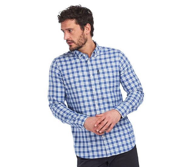 BARBOUR MEN'S HIGHLAND CHECK 35 TAILORED FIT SHIRT