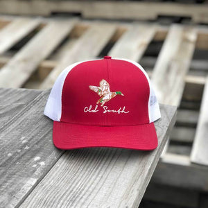 OLD SOUTH MALLARD TRUCKER HAT