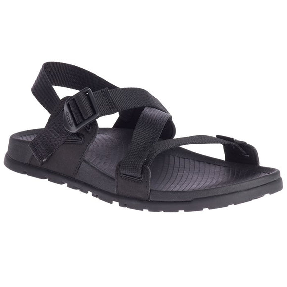 LADIES CHACO LOWDOWN SANDAL-BLACK