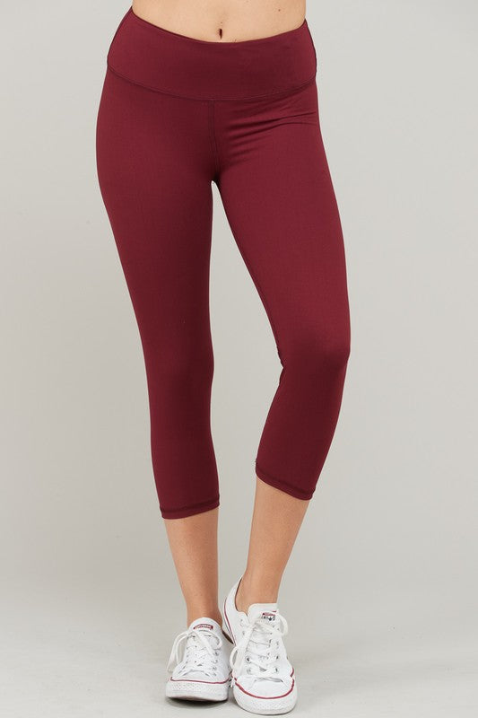 CAPRI YOGA LEGGINGS WITH FRONT YOGA POCKET