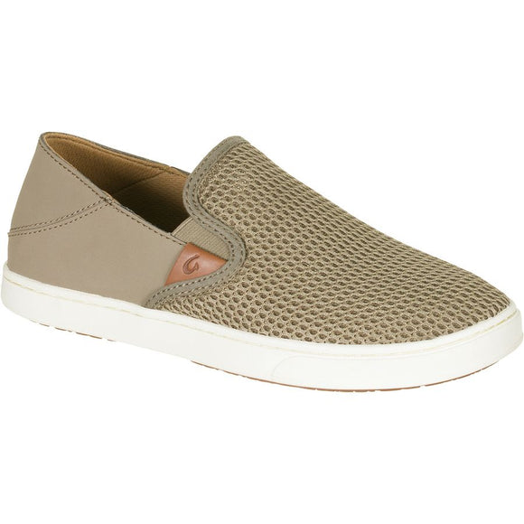 OLUKAI LADIES PEHUEA SLIP ON SNEAKER- CLAY