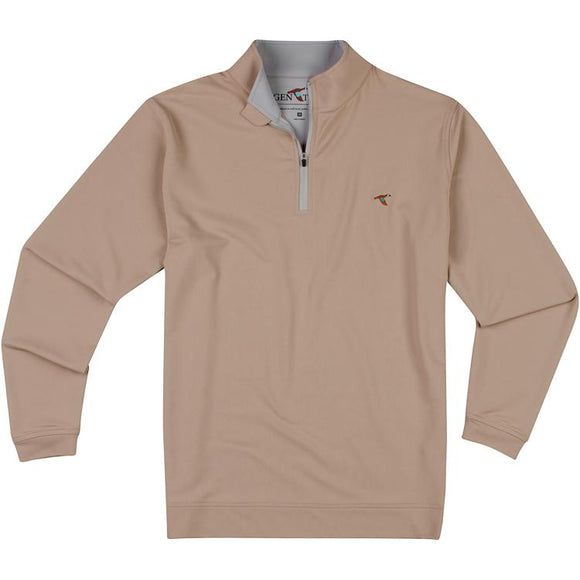 GENTEAL ALDER PERFORMANCE QUARTER ZIP