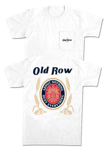 OLD ROW RETRO CAN SHORT SLEEVE POCKET TEE