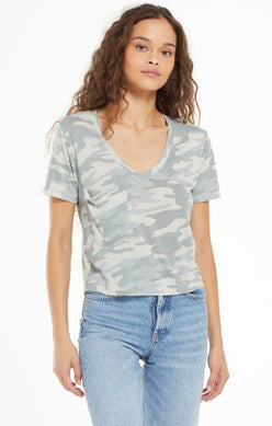 Z SUPPLY - CAMO CLASSIC SKIMMER TEE