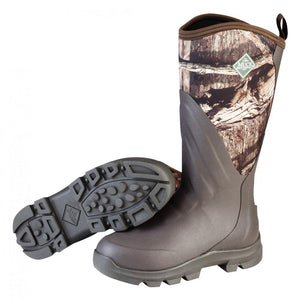 MUCK WOODY GRIT ALL TERRAIN HUNTING BOOT-BROWN/MOSSY OAK