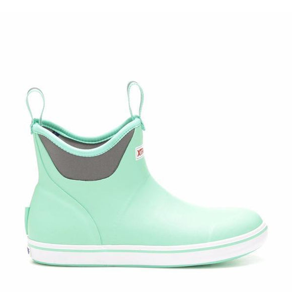 WOMENS XTRATUF-6IN ANKLE DECK BOOT-MINT
