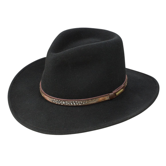 STETSON LINWOOD CRUSHABLE HAT
