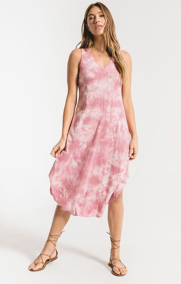 Z Supply Cloud Tye-Dye Dress