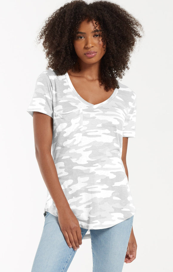 Z SUPPLY - THE CAMO POCKET TEE