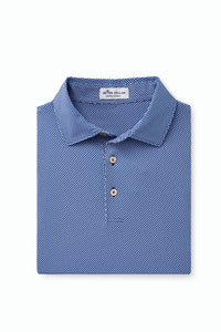 PETER MILLAR PEBBLES PRINTED PERFORMANCE POLO