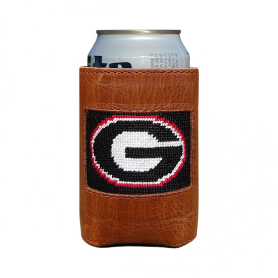SMATHERS & BRANSON BLACK UNIVERSITY OF GEORGIA CAN COOLER