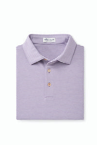 PETER MILLAR HALES STRIPE PERFORMANCE POLO