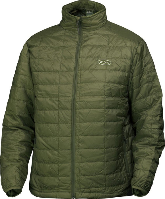 DRAKE MST SYNTHETIC DOWN PAC JACKET 0- OLIVE